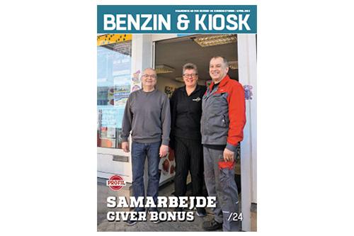 Benzin & Kiosk nr. 2 2019 på gaden