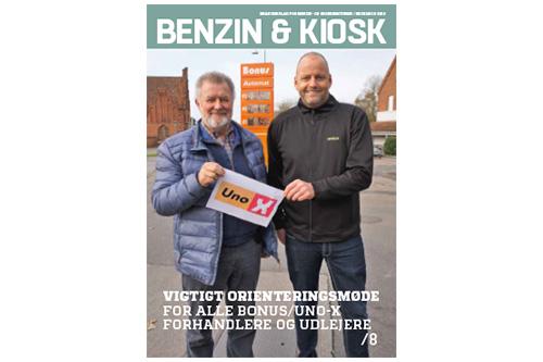 Benzin & Kiosk nr. 6 2019 på gaden