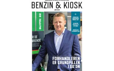 Benzin & Kiosk nr. 3 2020 på gaden
