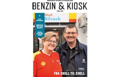 Benzin & Kiosk nr. 2 2021 på gaden
