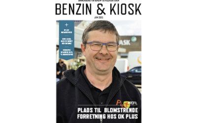 Benzin & Kiosk nr. 3 2021 på gaden