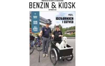 Benzin & Kiosk nr. 4 2021 på gaden